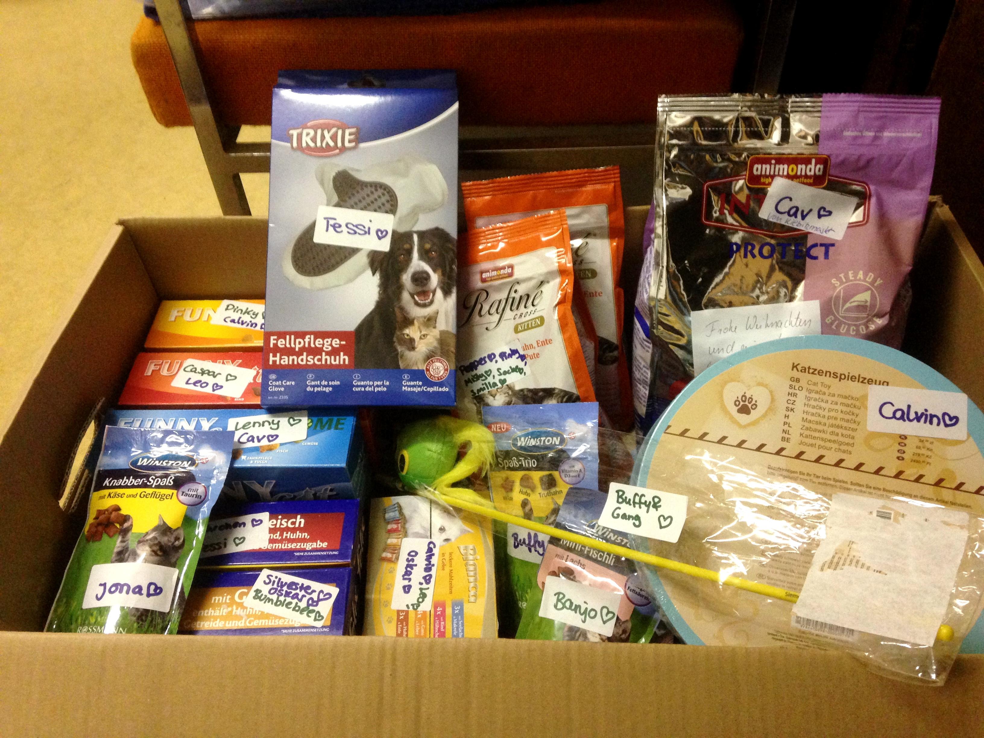 Geschenke, Geschenke, Geschenke… | Tierschutzverein Soltau