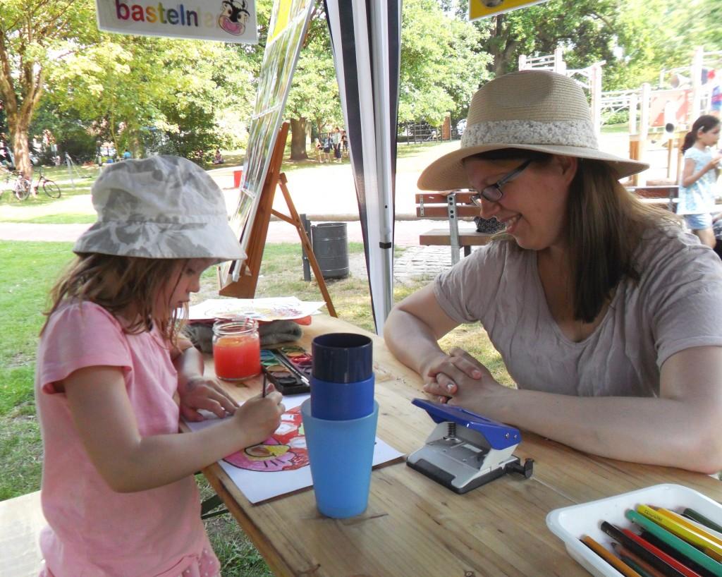 Kinderfest 2015 - Basteln 01