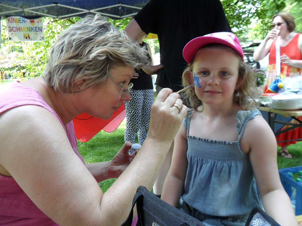 Kinderfest 2015 - Schminken 04